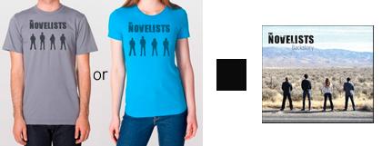 The Novelists CD/T-shirt Combo